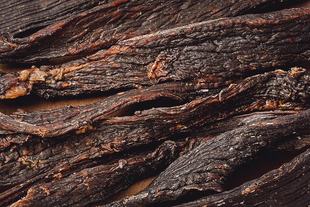 Closeup of borts