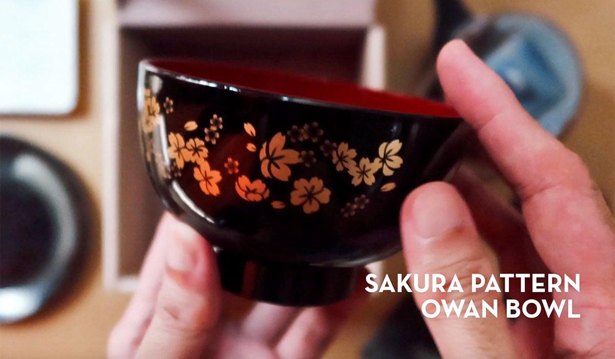 Sakura pattern owan bowl