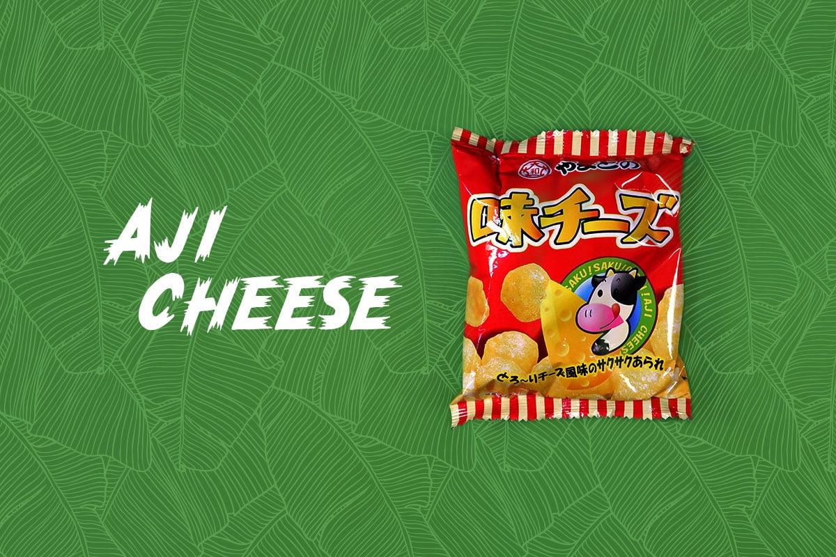TokyoTreat box contents: Aji Cheese, a cheesy Japanese snack
