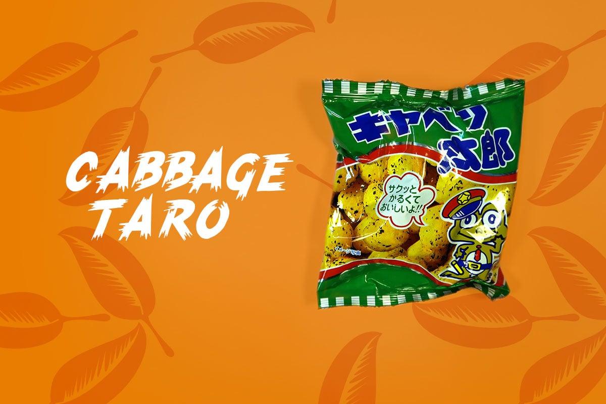 TokyoTreat box contents: Cabbage Taro