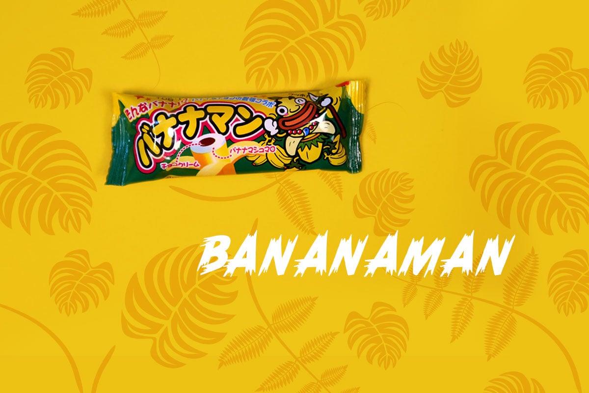 TokyoTreat box contents: Bananaman