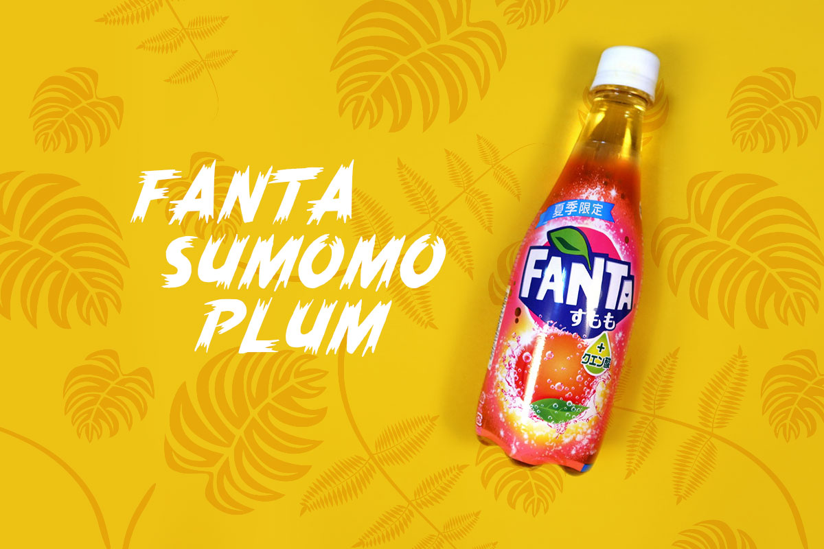 TokyoTreat box contents: Fanta Sumomo Plum