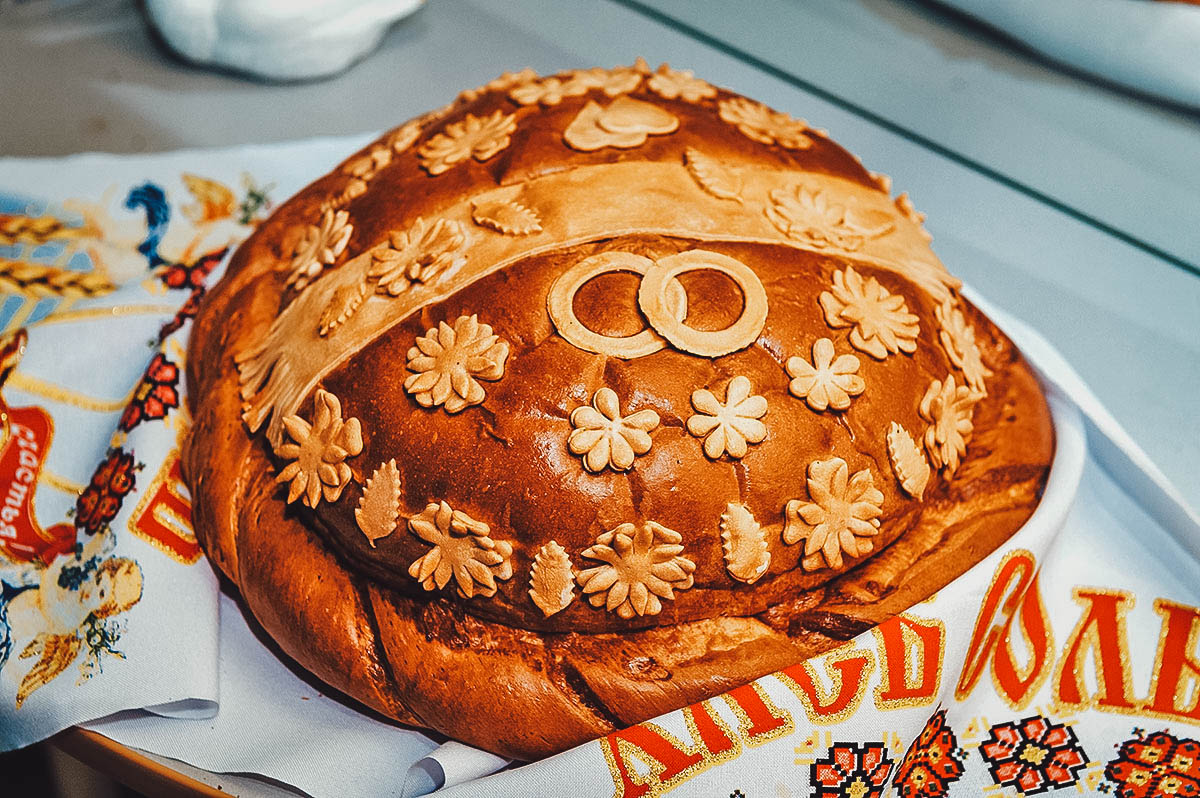 Loaf of korovai
