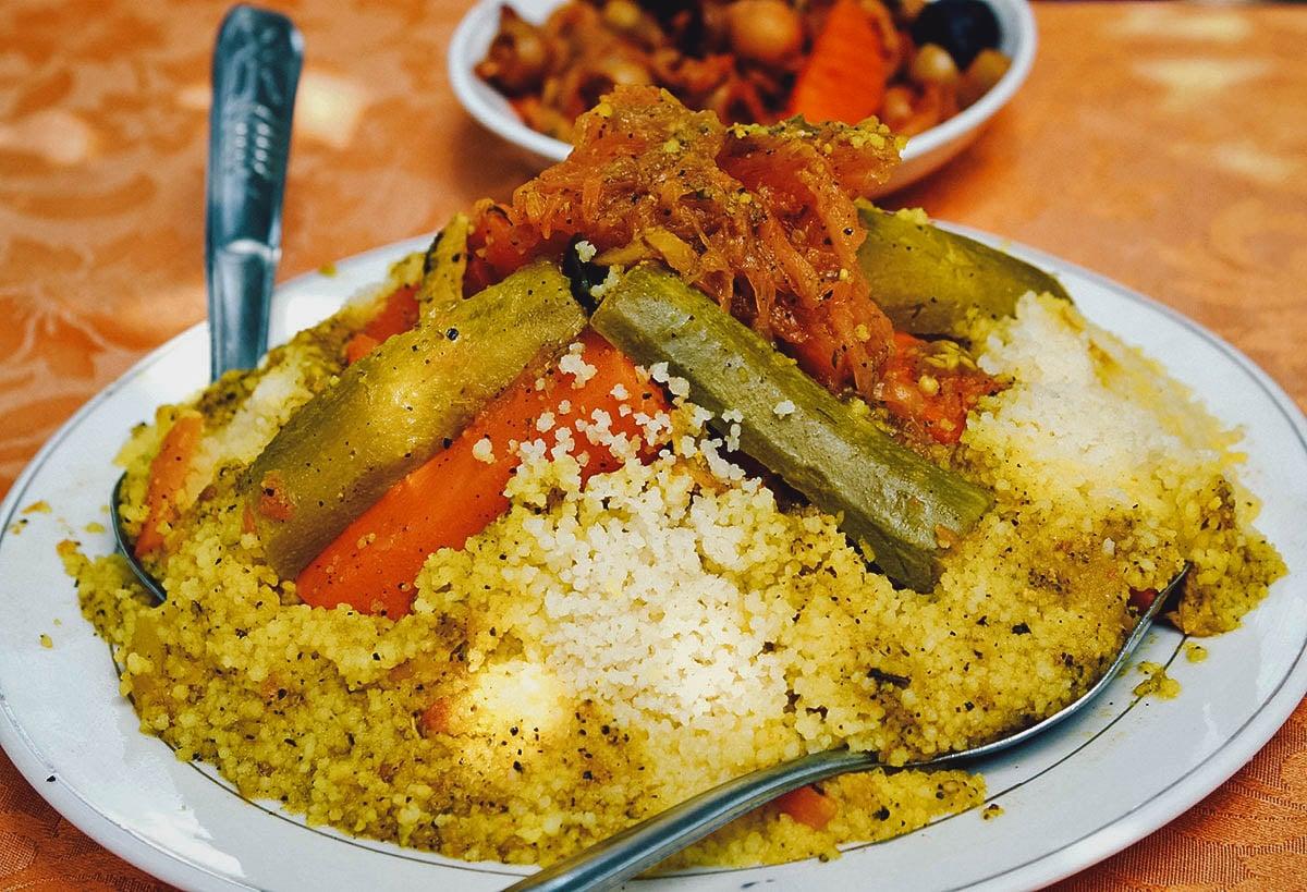 7 vegetable couscous