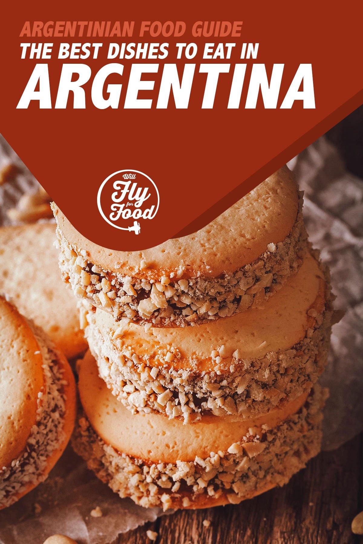 Alfajores, a popular dessert in Argentinian cuisine