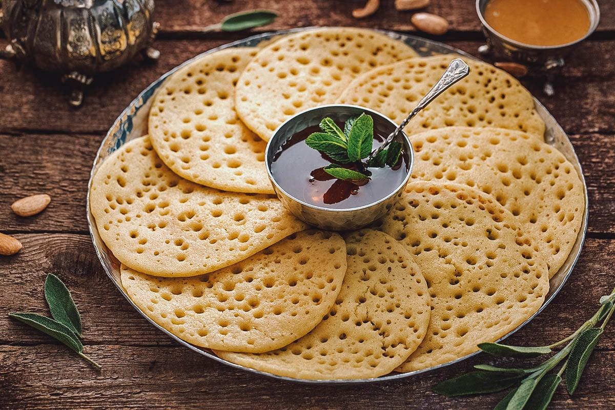 Baghrir, Moroccan pancakes