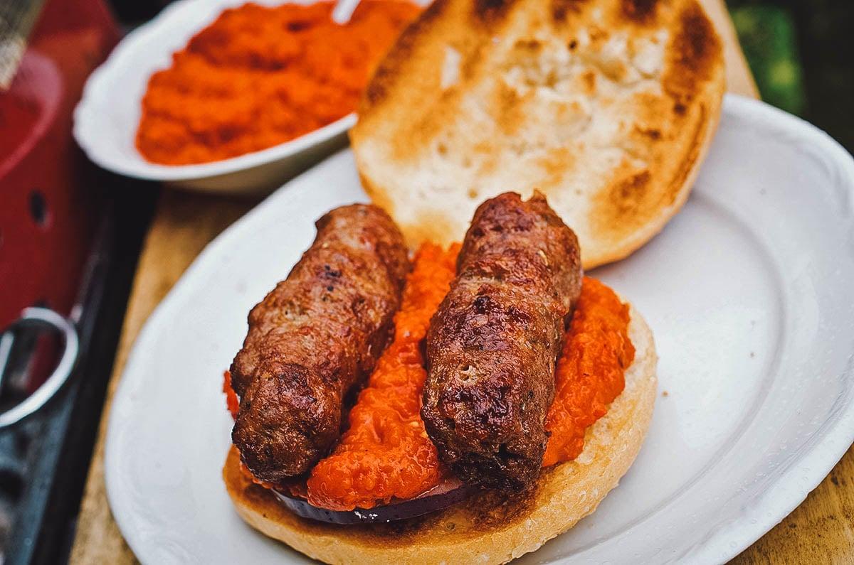 Cevapcici, Balkan meatballs