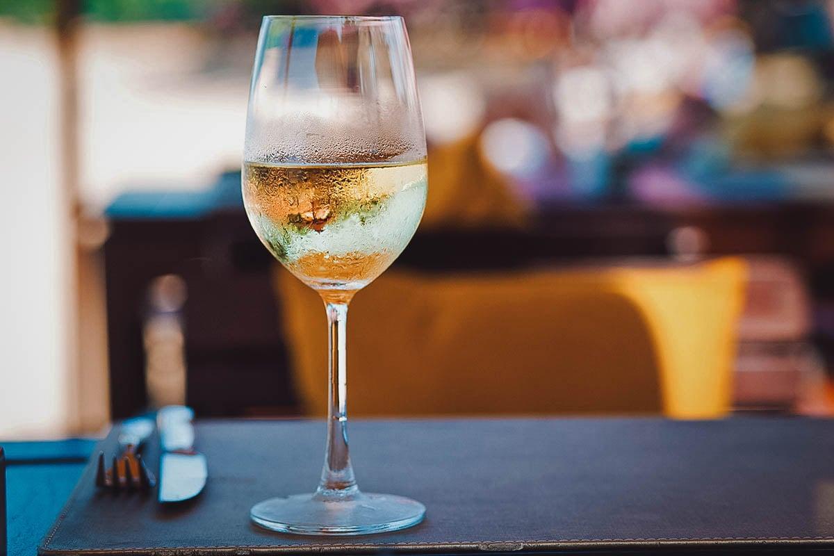 Istrian malzazija, a Croatian white wine from Istria