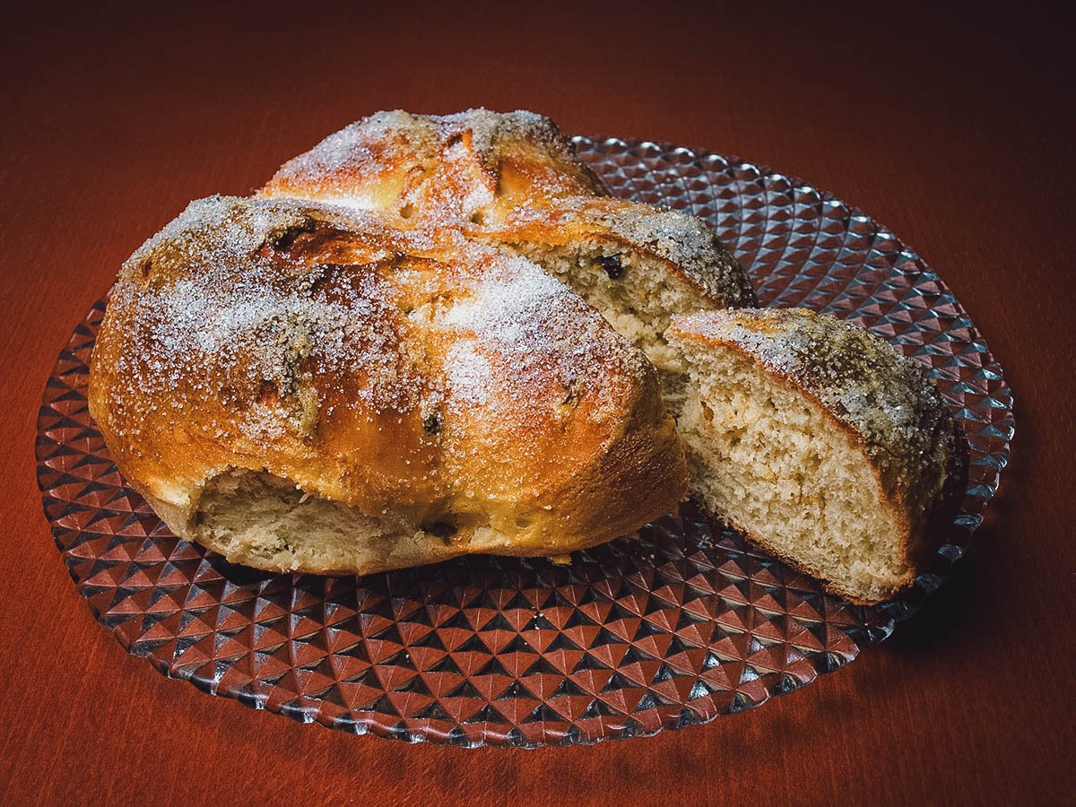 Pinca, a traditional bread baked for Easter in coastal Croatia