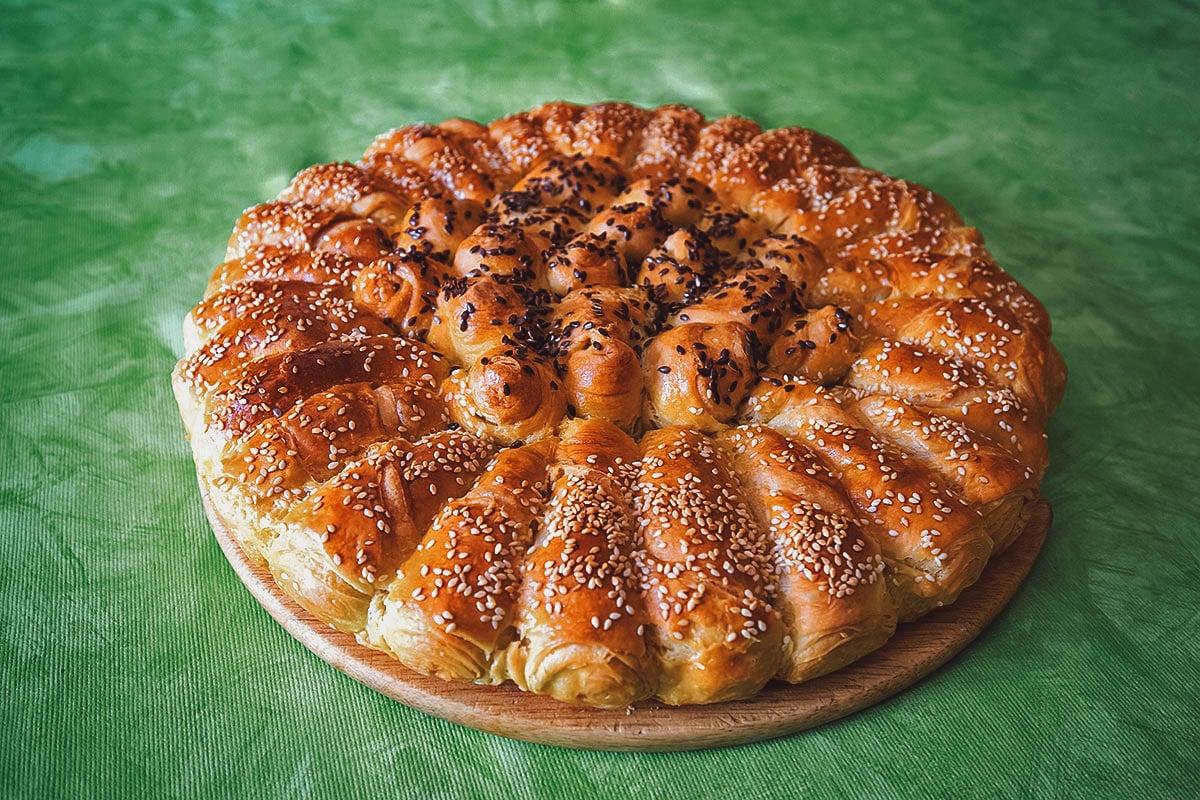 Pogaca, Croatian stuffed bread