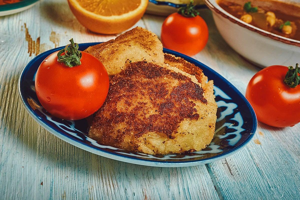 Maakouda, Moroccan potato fritters