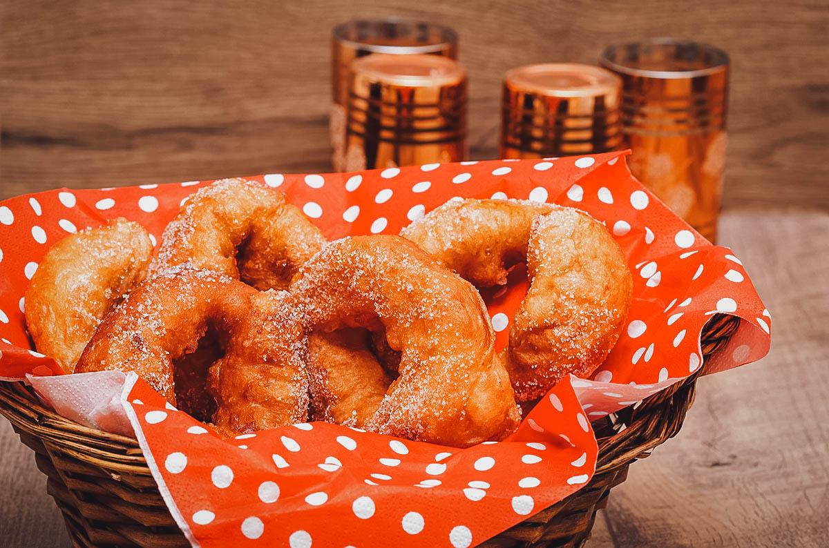 Sfinj, Moroccan doughnuts