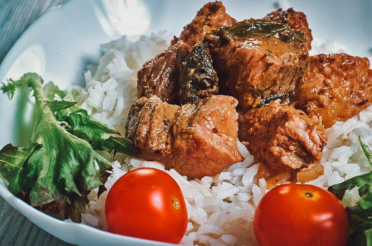 Denningvleis, a Cape Malay stew