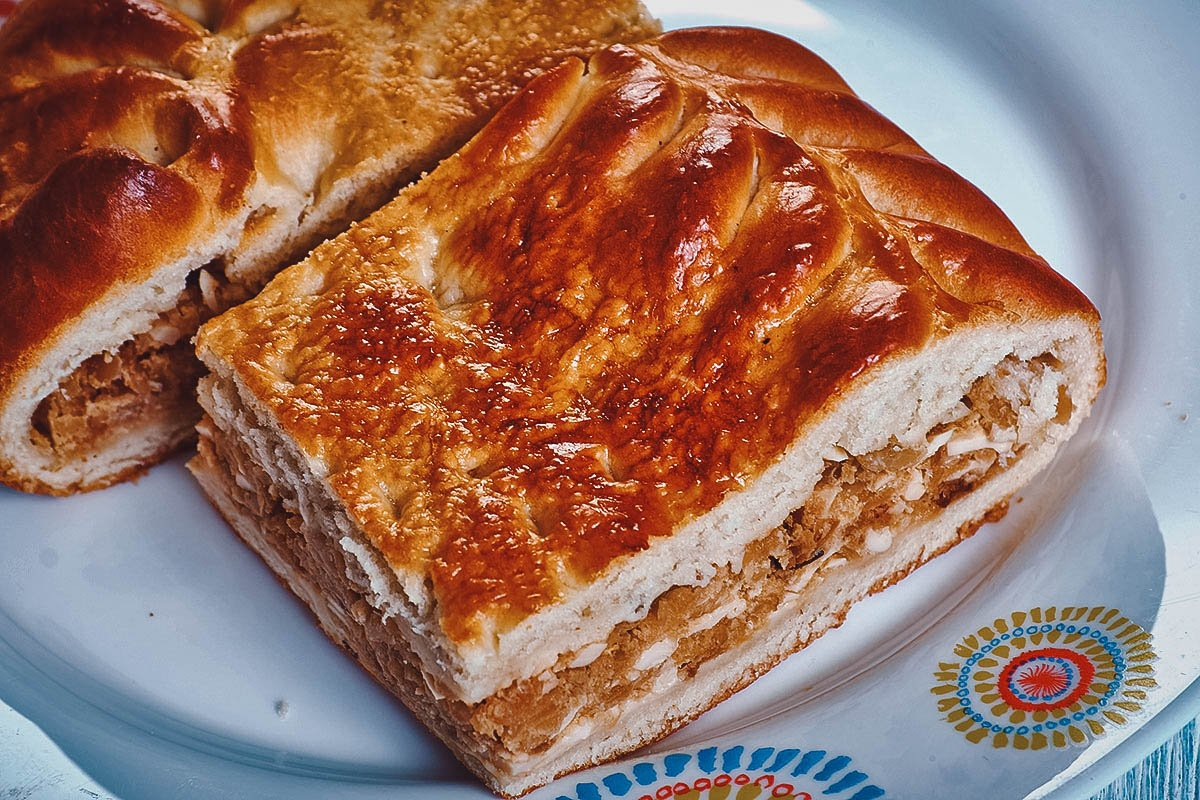 Hoenderpastei or chicken pot pie