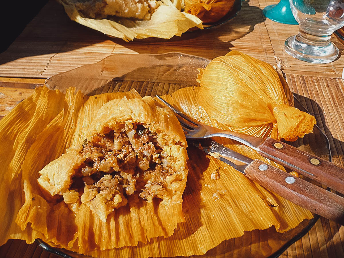 Tamales, an ancient dish from South America